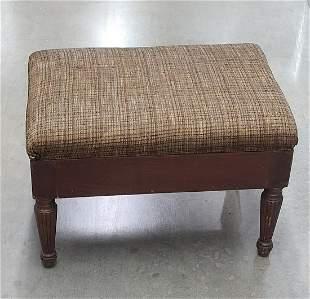 Vintage Footstool 13x20x13