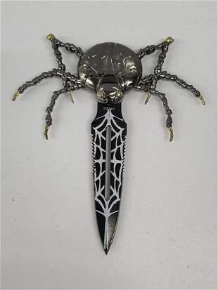 "Spider Knife 8x7"""