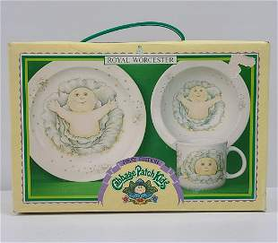1983 Cabbage Patch Kids Royal Worcester Set