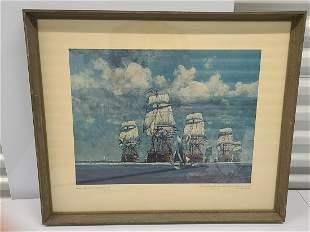 ITT Marine Fleet Print 21x25