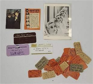 Vintage Epherma Incl Beatles Cards