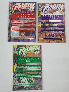 Robin II Unopened Sealed Collector's Sets