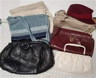 Vintage Purses & Hat