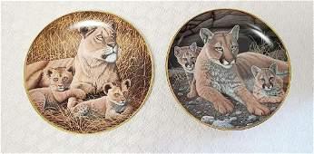 NWF Michael Matherly Big Cats Plates