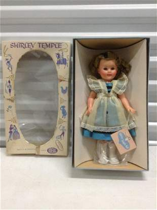 """1961 Ideal Shirley Temple Doll in the box - doll 14"""""""
