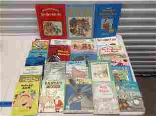 Large lot of Vintage Childrens Books