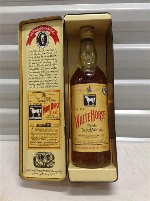 Sealed The White Horse Scotch 750ml