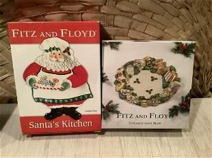 Fitz & Floyd Christmas items NIB