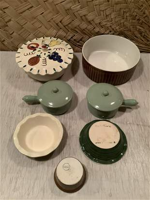 Lot of Emile Henry France, Hall, USA and more