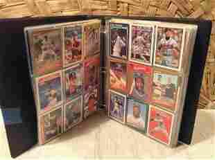 Large binder full of baseball cards Sample Shown Double