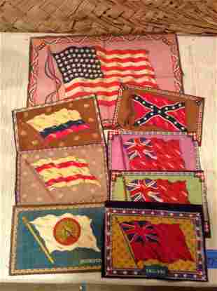 Confederate and other Tobacco Flags
