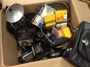Vintage cameras, equipment and more