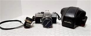 Vintage Minolta Camera & Case