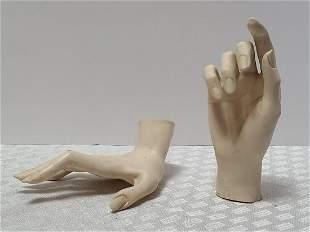 Vintage Mannequin Ladies Hands CREEPY