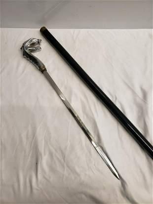 Dragon head sword cane
