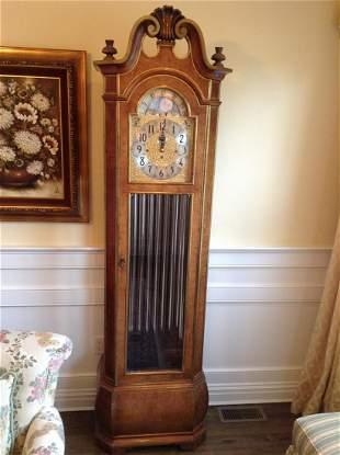 "Herschede Grandfather Clock 86"" tall"