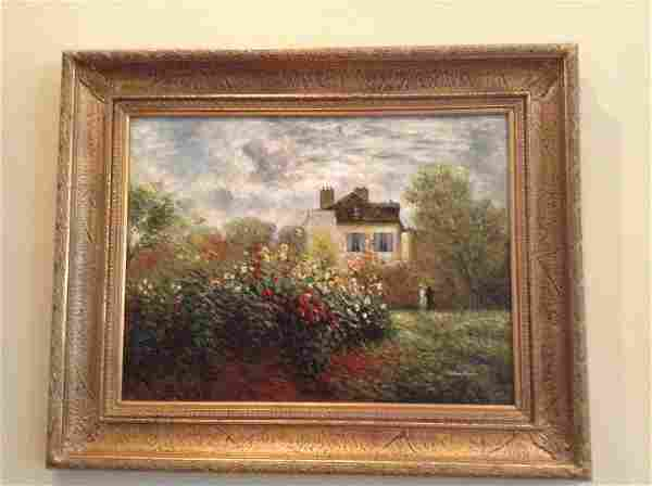 """Painting Signed by the Artist Mario Pazarro 52""""x42"""""""