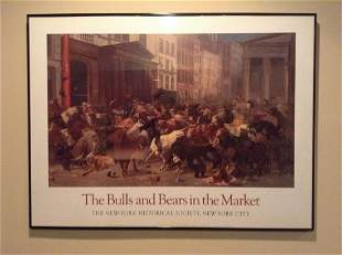 """The Bulls and Bears in the Market"""" New York Historical"""