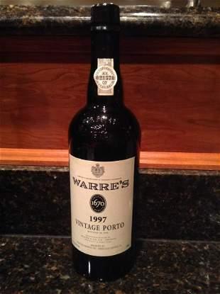 Warre's 1997 Vintage Porto 750 ml Sealed