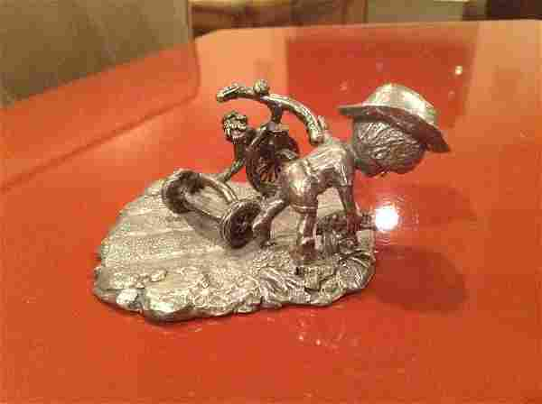1973 Designed by Polly for the Gorham Collection Pewter