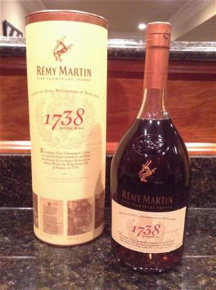 Remy Martin 1738 Sealed with box 1L