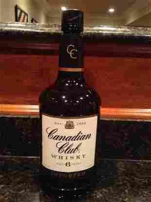 Canadian Club 6 Year Whiskey 1.75 Sealed