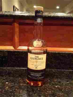 Glenlivet 18 Year Single Malt Scotch 750ml