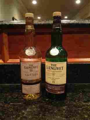 Glenlivet Nadurra 16 Year & French Oak Reserve 15 Year