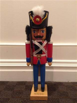 Signed & Numbered Ore Mountain Collection Toy Soldier