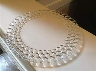 "Signed Tiffany & Co. Serving Platter 12.5"""