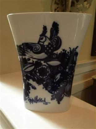Signed by the artist Rosenthal Germany Studio Line Vase