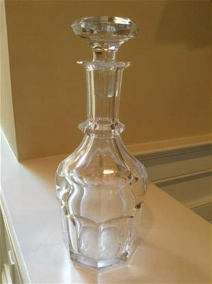 """Signed Decanter 11"""" tall"""