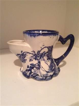 Staffordshire Ironstone Mug - handle has been repaired