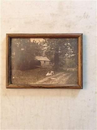 "Framed Early Photograph 7.5""x5"""