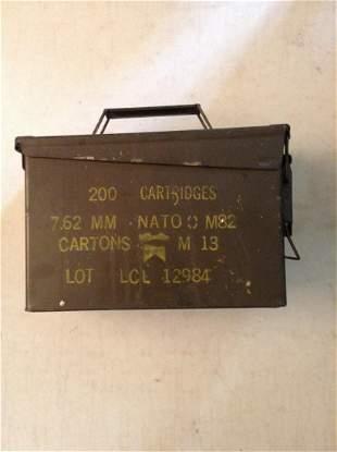 Early Army Ammo Box