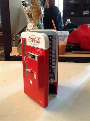 """1994 Coca Cola Coin Bank 7.5"""" Tall"""