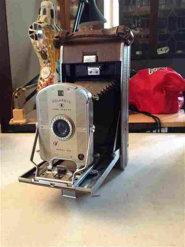 Early Polaroid Land Camera Model 95a (instructions on