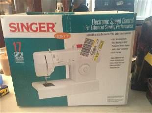 Singer Sewing Machine Model 2517
