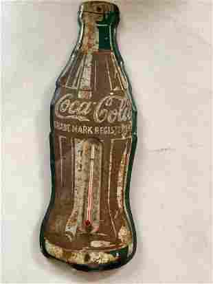 Tin Coca Cola Thermometer