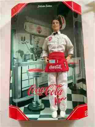 Coca Cola Collector Edition Ken Doll in Box