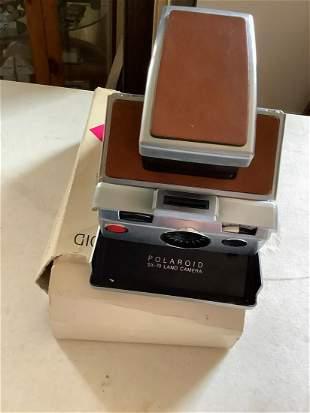 Polaroid SX-70 Land Camera with Box