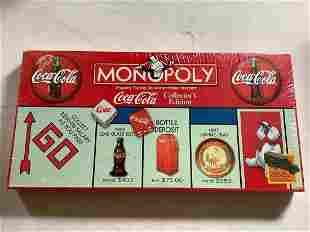 Sealed Coca Cola Monopoly Game