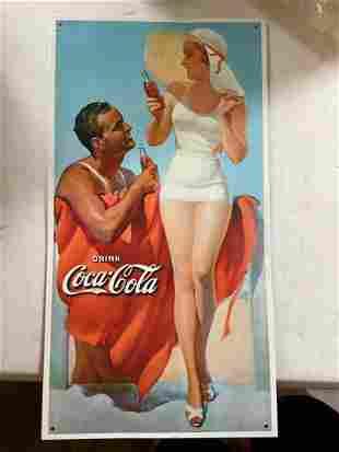 Tin Coca Cola Advertisement
