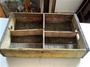 Dr. Pepper Advertisement Crate
