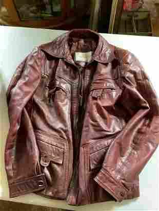 Saxony Genuine Leather Jacket Made in Korea