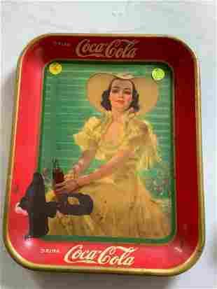 Coca Cola Advertising Tray