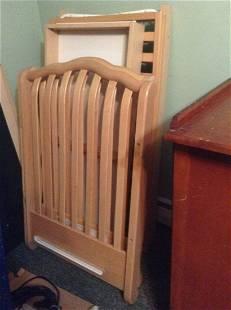 Complete Bonavita Solid Wood Vintage Crib
