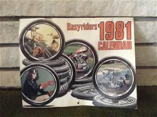 1981 Easy Rider Calendar