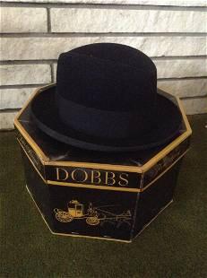 Dobbs Fifth Avenue New York Mens Dress Hat with Box