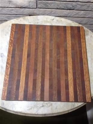 Mid Century Modern Handmade Wood Cutting Board